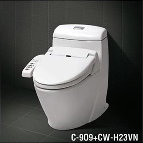 Bàn cầu công nghệ nắp rửa cảm ứng inax CW-H23VN