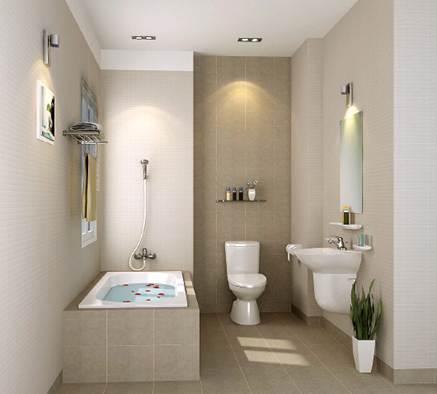 Hãy biến hóa phòng tắm thành nơi để thư giãn