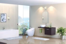 8 mẹo nhỏ giúp phòng tắm đẹp hơn