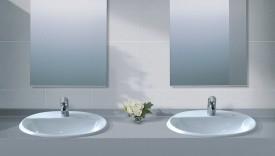 Chậu rửa inax đặt bàn hiện đại hơn cho phòng tắm của gia đình của bạn